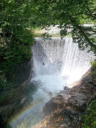 虹の西黒沢